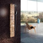 Wall-hung shower column