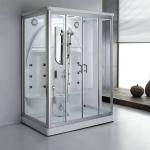 2 person rectangular steam shower enclosure