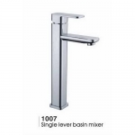 Low lead singlge lever bathroom faucet