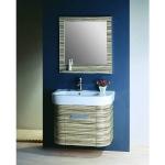 Round wall bath Cabinet