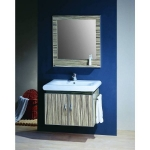 """30"""" Wall Cabinet with towel bar"""