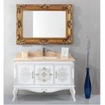 1200mm Bathroom vanity with Golden Mirror