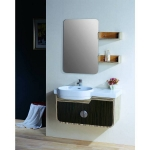 Bath wall cabinet with mirror & shelf
