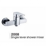Shower brass faucet