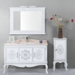 Bathroom cabinets with Side cabinet