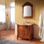 Wooden Classical bathroom vanity